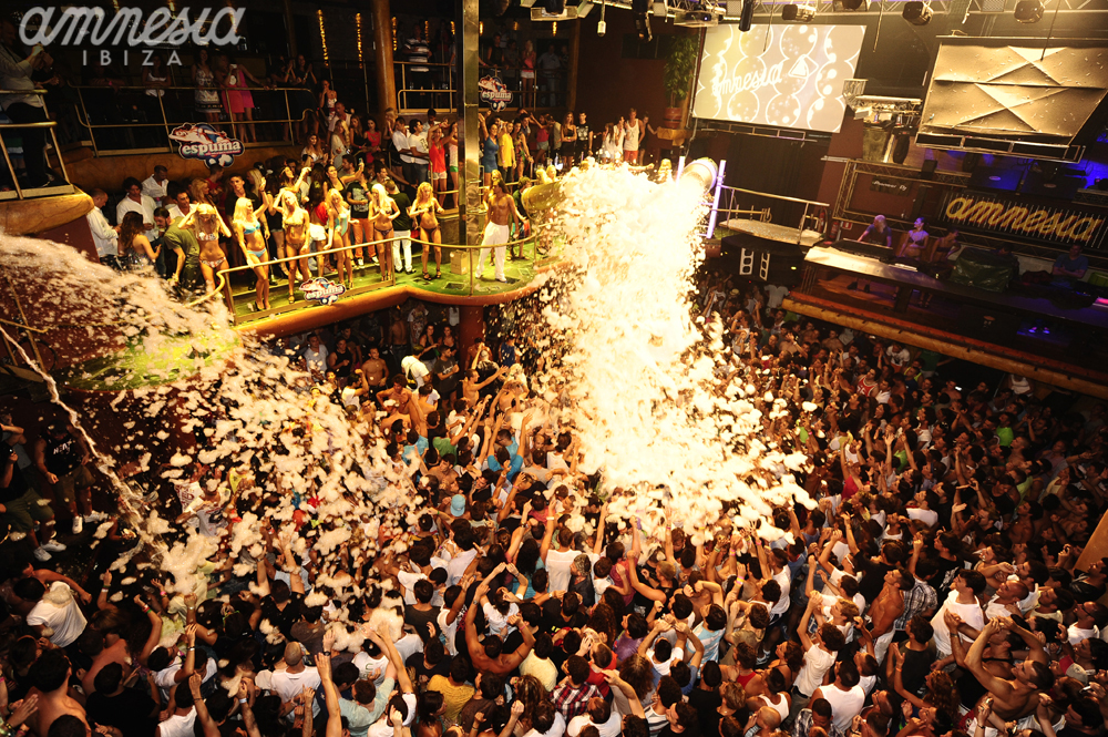 Amnesia Nightclub Striking Club In Ibiza Spain