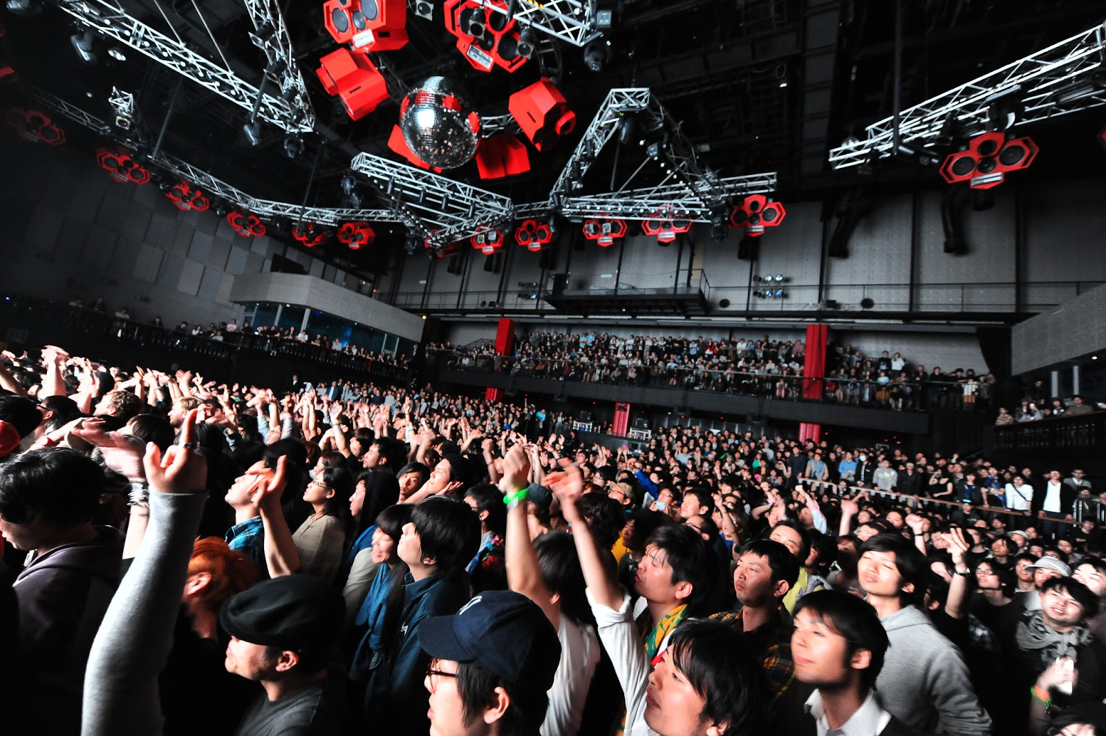 Ageha Tokyo Colossal Nightclub In Koto Biggest Club Of