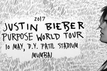 Justin Bieber is coming to Mumbai on his Purpose World tour