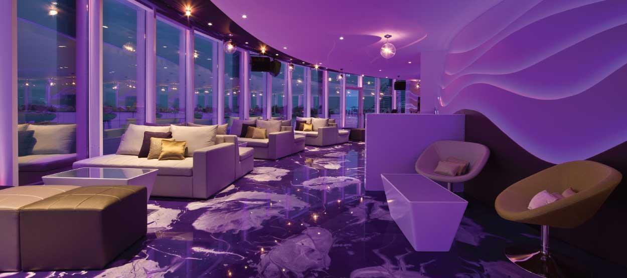 360 176 Degree Nightclub Jumeirah Beach Hotel Dubai