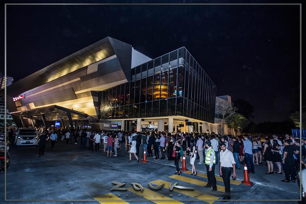 Zouk Kuala Lumpur Nightclub In Jalan Ampang Malaysia