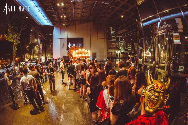 Altimate Nightclub At 1 Altitude Singapore Clubbing In